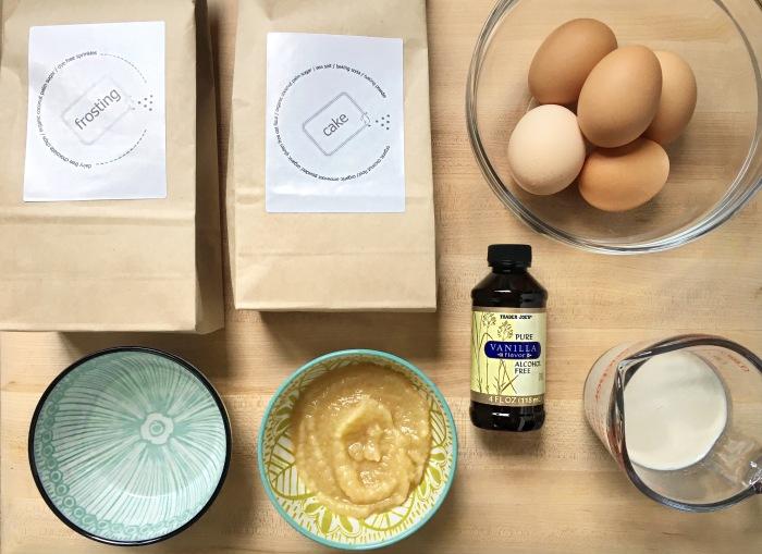 almonds and asana flipbox cupcake ingredients