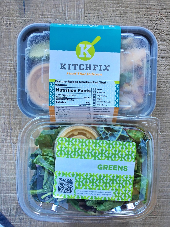 almonds and asana kitch fix lunches