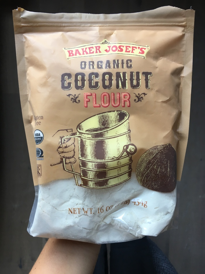 almonds and asana trader joes coconut flour