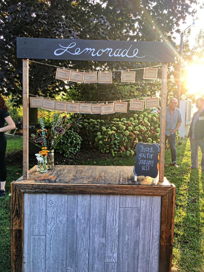 almonds and asana heritage farms marriott lemonade stand