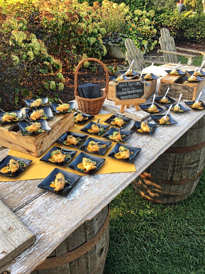 almonds and asana heritage farms marriott squash blossom
