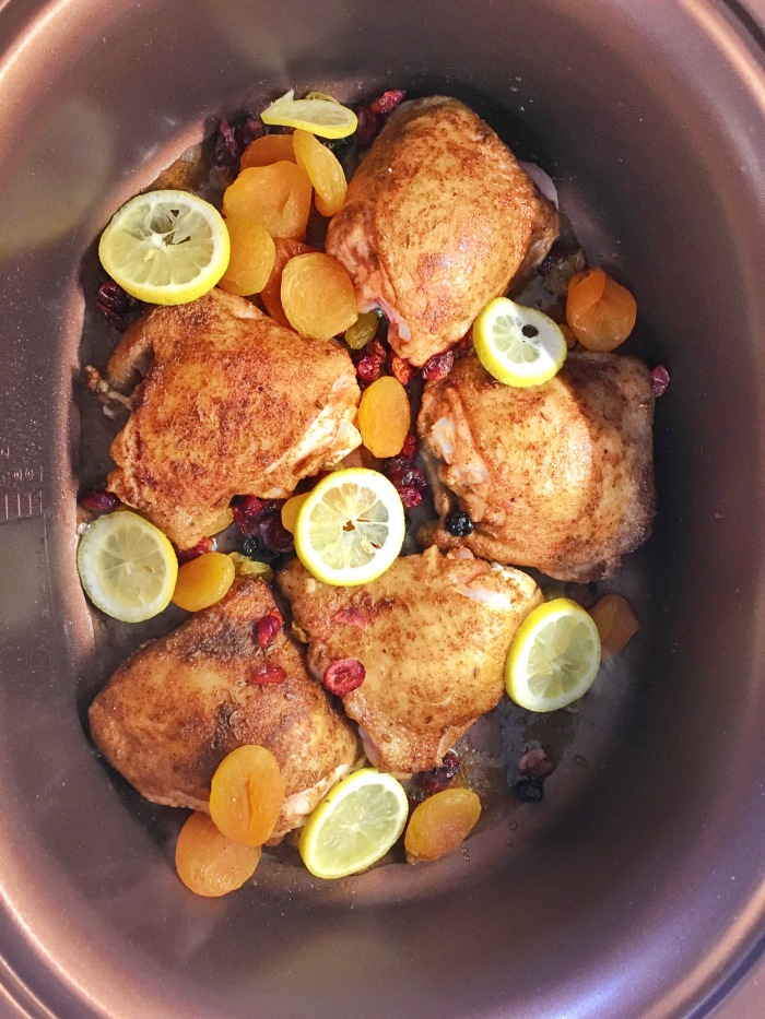 almonds and asana moroccan chicken slow cooker round 2