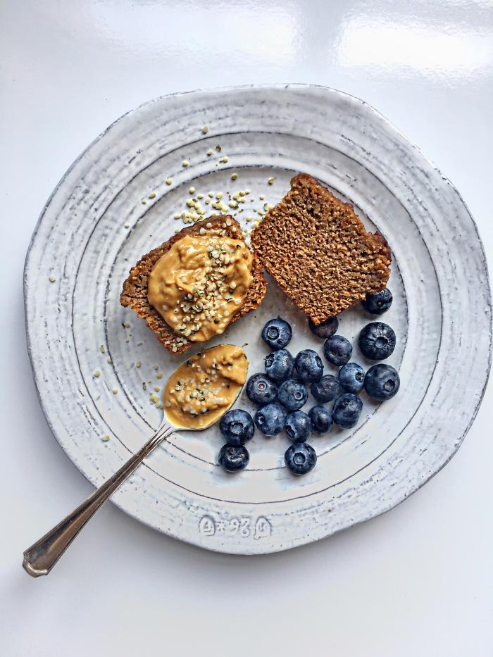 almonds and asana butternut squash collagen peptide muffins